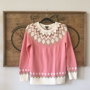 Talbots Fair Isle Nordic Ski Sweater